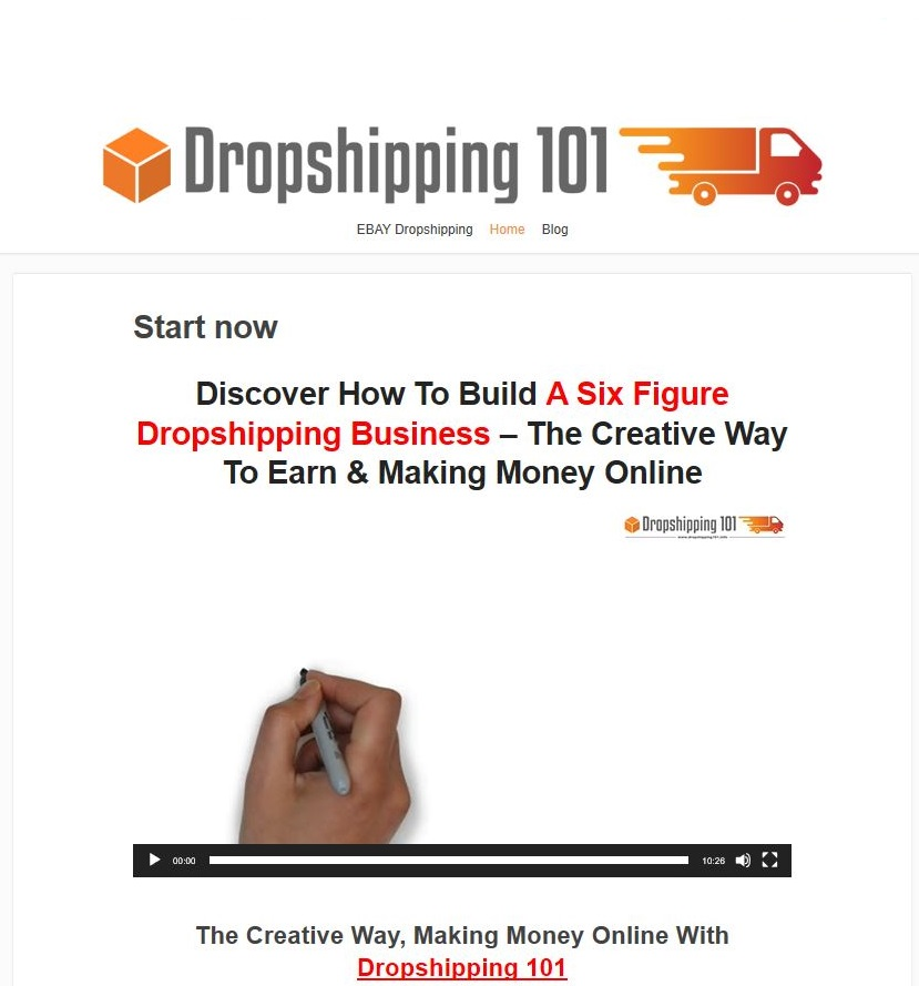 Dropshipping Video Ratgeber